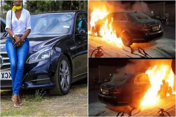 Jilted-wife-set-ablaze-Benz-her-husband-bought-for-his-side-chick (1)