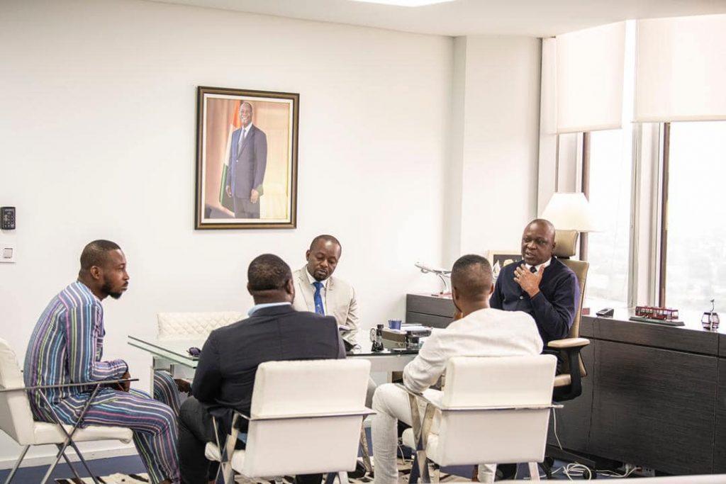Côte d'Ivoire/Rencontre entre Kerozen et le ministre du transport : de grands projets s'annoncent