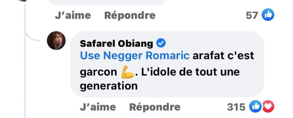 """Côte d'Ivoire/ Safarel Obiang: """"Arafat c'est l'idole de toute une génération"""""""