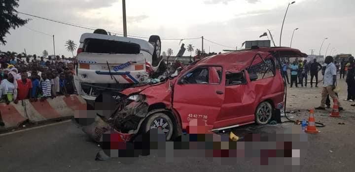 Côte d'Ivoire : grave accident de la circulation sur l'axe Abidjan-Bassam : plusieurs morts