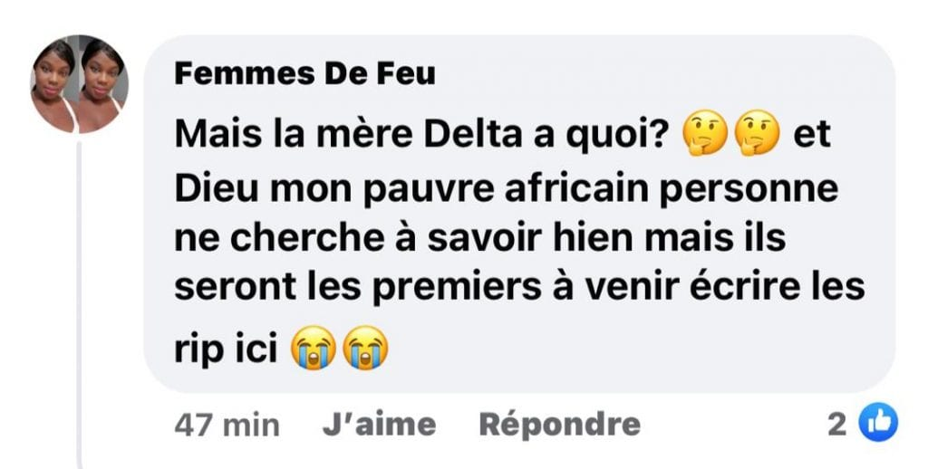 Côte d'Ivoire/ Akissi Delta aperçue avec une canne : les internautes inquiets réagissent