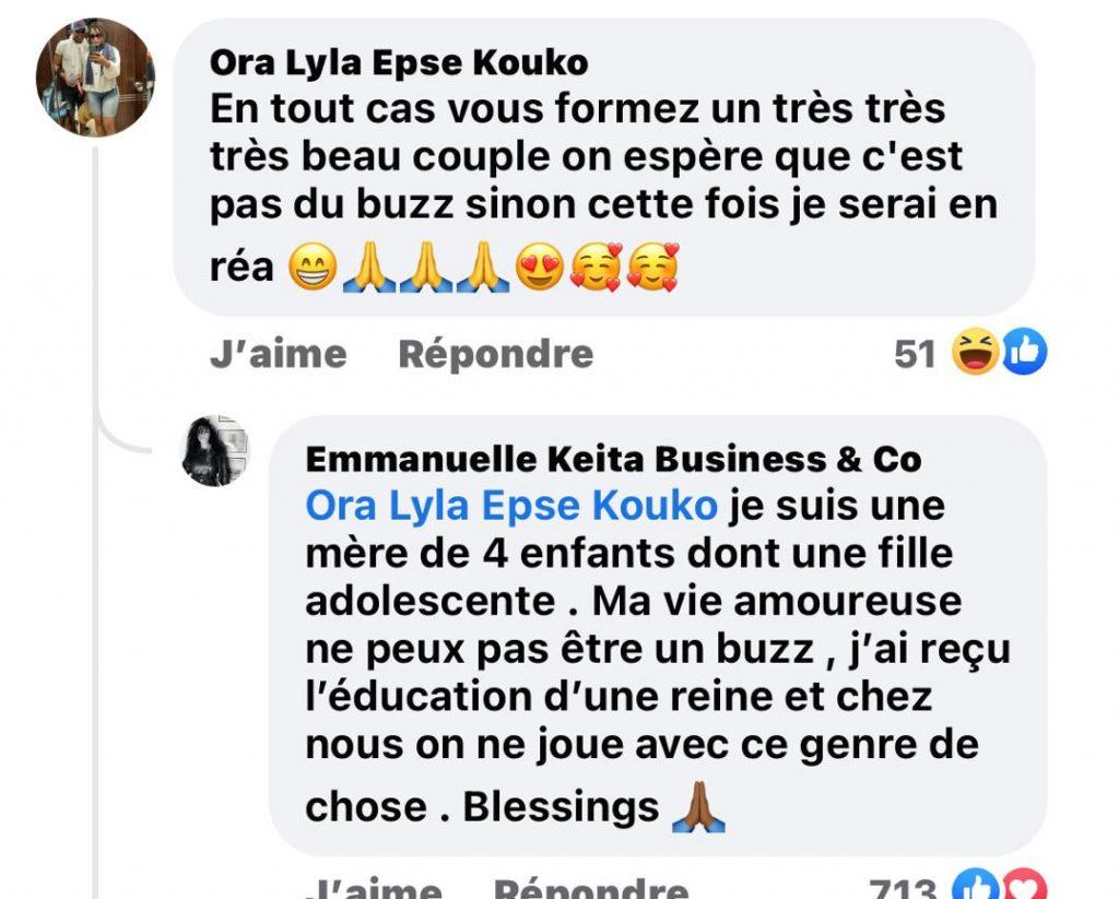 Côte d'Ivoire/ Fiançailles d'Emmanuelle Keita, buzz ou réalité: voici ce que répond la concernée