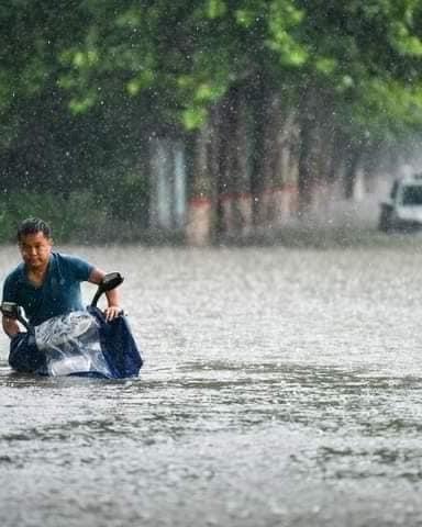 Chine/ Inondation catastrophique dans le pays: plus de 200.000 personnes évacuées