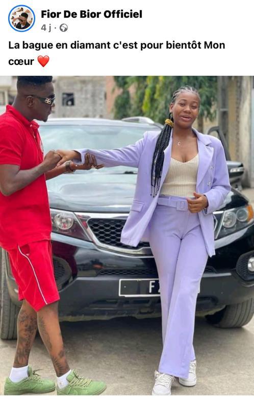 Fior de Bior : le rappeur annonce officiellement son mariage civil avec sa compagne