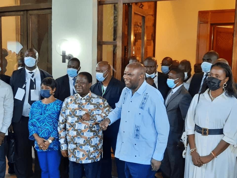 Côte d'Ivoire/ Laurent Gbagbo est arrivé à  Daoukro chez Henri Konan Bédié