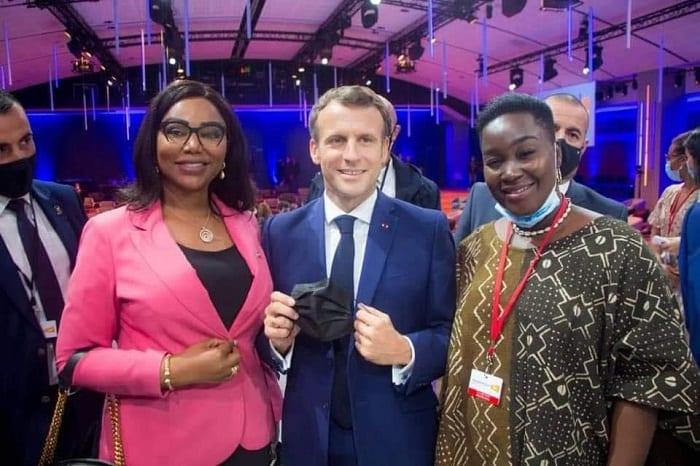 Prissy la Degameuse aux côtes du président Emmanuel Macron : la photo fait jaser sur internet