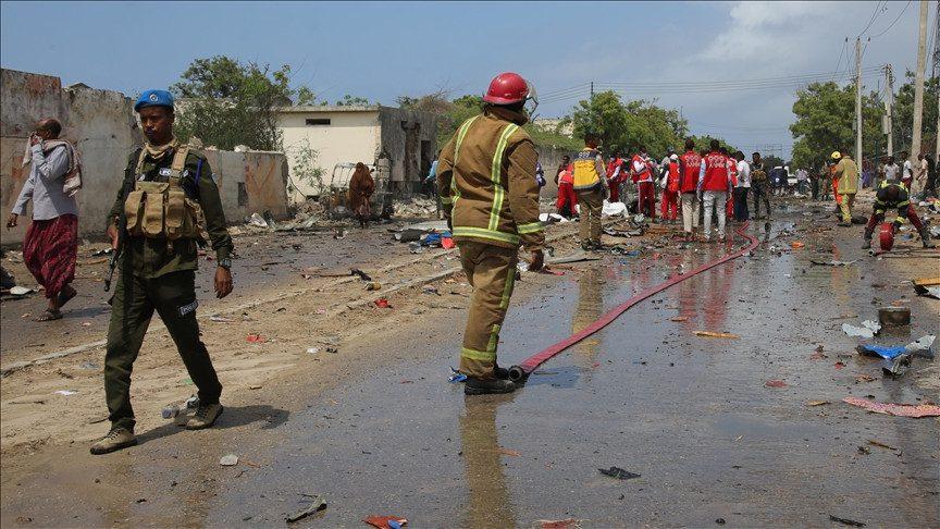 Somalie: quatre footballeurs tués dans l'explosion d'une bombe (Photos)