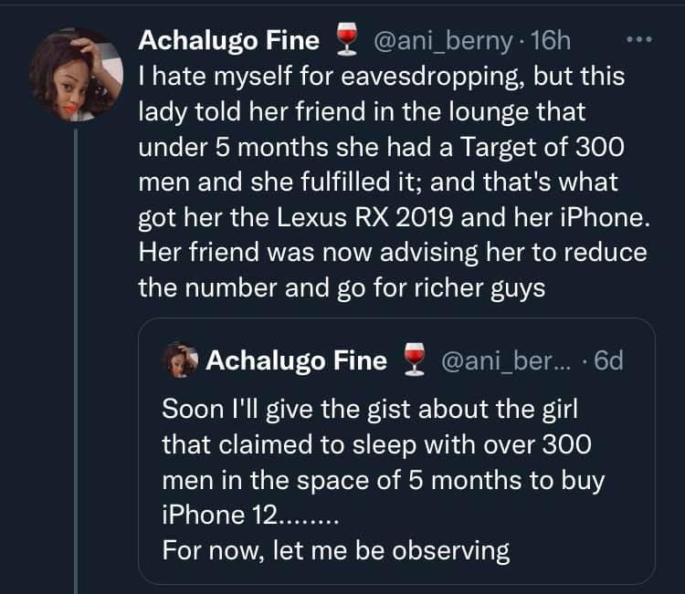 Une femme aurait couché avec 300 hommes en 5 mois pour acheter un SUV et un iPhone 12