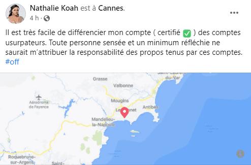 Cameroun / Victime d'usurpation d'identité : Nathalie Koah craque et crache ses vérités