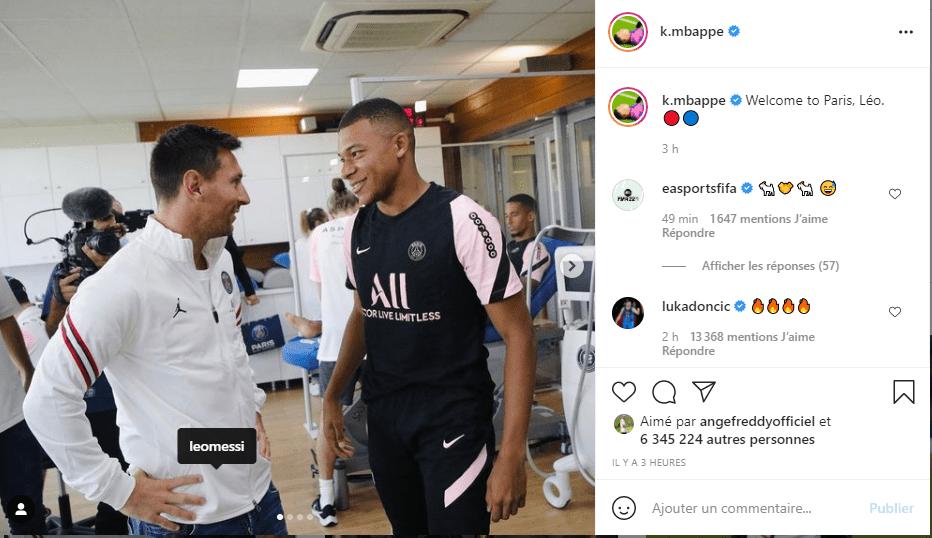 PSG: Kylian Mbappé réagit enfin à l'arrivé de Messi
