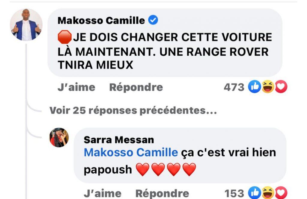 Côte d'Ivoire / Le Général Makosso promet une Rang Rover à Sarah Messan : la réaction de la web humoriste