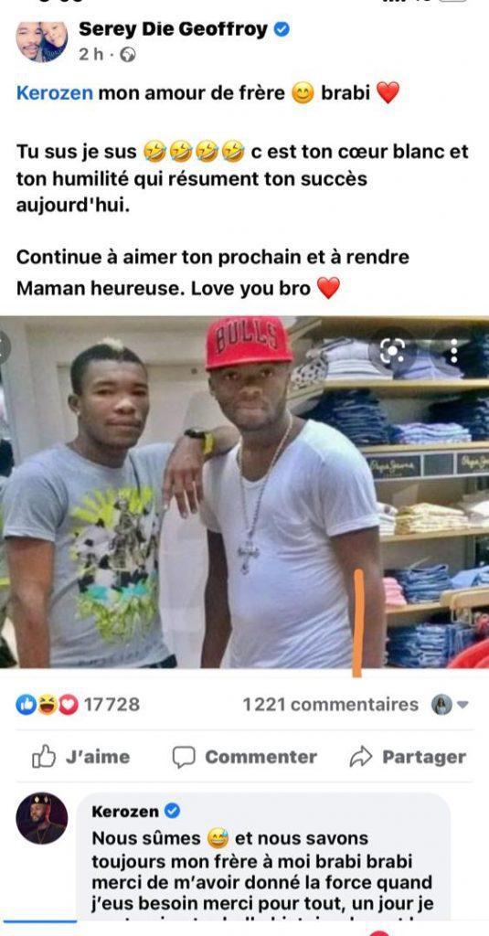 Côte d'Ivoire : Kerozen révèle comment le footballeur Serey Die a contribué à son succès actuel