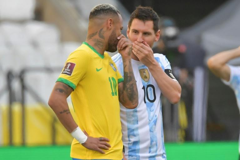 Elim. CDM 2022 / Argentine-Brésil: Lionel Messi furieux réagit après qu'une affaire de Covid-19 a mis fin au match