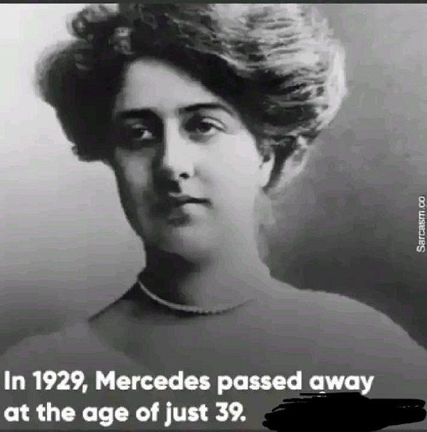 La triste histoire de Mercedes, la fille qui a inspiré le nom Mercedes-Benz