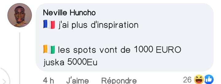 """Côte d'Ivoire/ Deborbo Leekunfa exige désormais des millions pour les """"spots"""""""