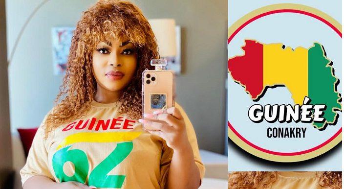 Eudoxie yao soutien la Guinée