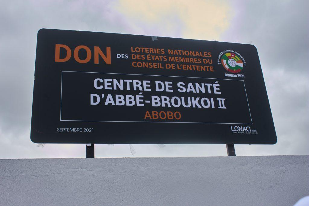 Côte d'Ivoire: La LONACI offre un centre de santé au village d'Abbe-Broukoi II (Abobo N'Dotré)