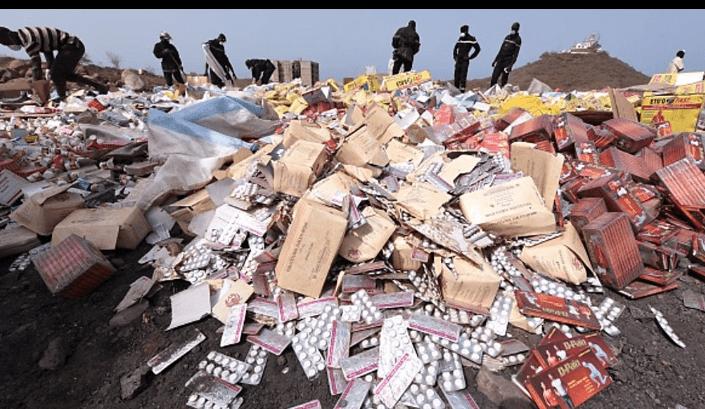 Côte d'Ivoire/ Plus de deux tonnes de drogue et médicaments prohibés brulés par la cellule anti-drogue de Bouaké