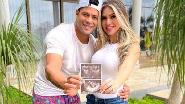 Le footballeur brésilien, Hulk attend son 4e enfant avec la nièce de son ex-femme