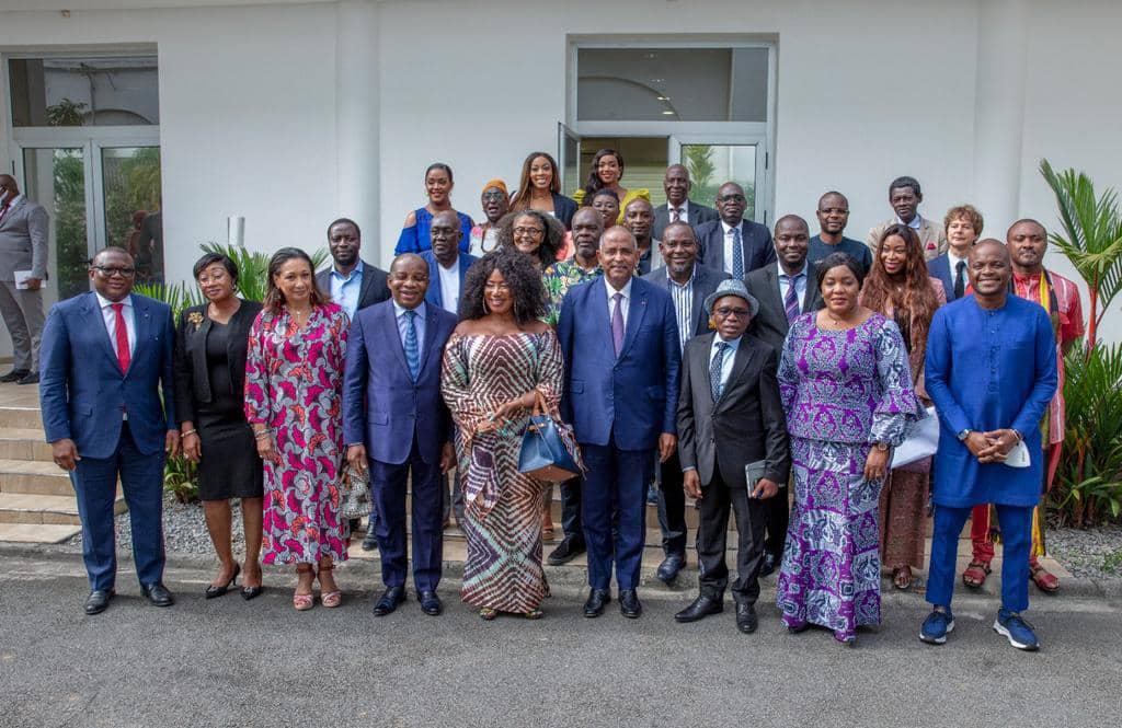 Côte d'Ivoire/ Le premier Ministre Patrick Achi répond aux acteurs de la filière cinématographique