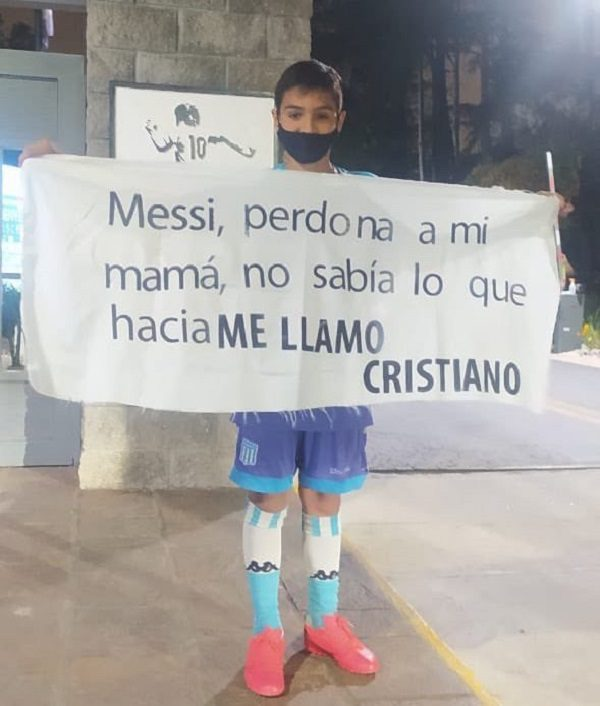 """""""Messi, pardonne à ma mère, elle ne savait pas ce qu'elle faisait…"""", dixit Cristiano"""