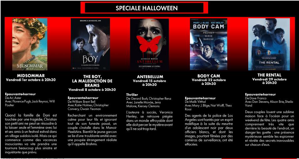 En Octobre, c'est le spécial halloween sur  Canal+ : Voici le programme des films et séries