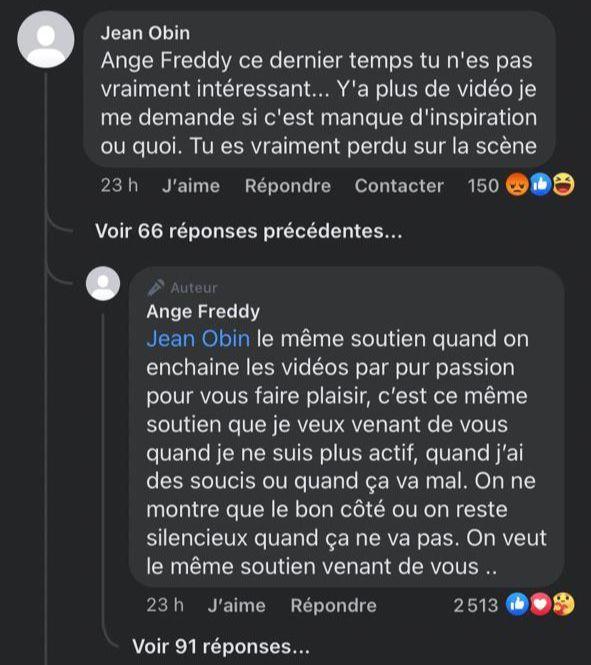 Côte d'Ivoire / Le web humoriste Ange Freddy absent des réseaux sociaux : voici la raison